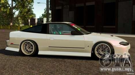 Nissan 240SX facelift Silvia S15 [RIV] para GTA 4 left