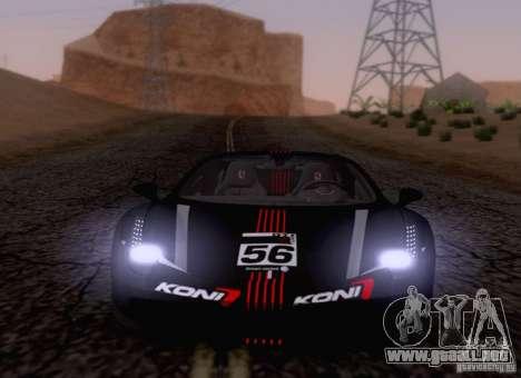 Ferrari F458 para visión interna GTA San Andreas