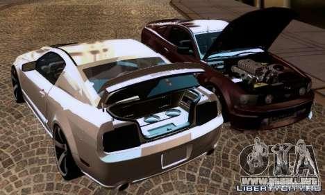 Ford Mustang GTS para visión interna GTA San Andreas