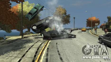 Heavy Car para GTA 4 adelante de pantalla