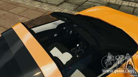 Chevrolet Corvette C6 Grand Sport 2010 para GTA 4