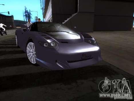 B Engineering Edonis para GTA San Andreas left