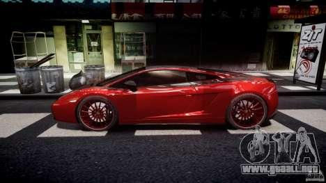 Lamborghini Gallardo Superleggera 2007 (Beta) para GTA 4 left