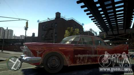 Plymouth Savoy Club Sedan 1957 para GTA 4 left