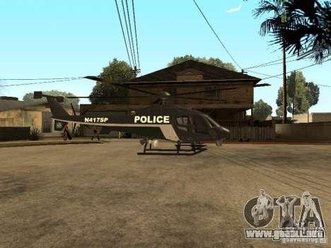 Police Maverick para GTA San Andreas left