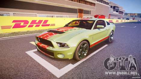 Ford Mustang Shelby GT500 2010 (Final) para GTA 4