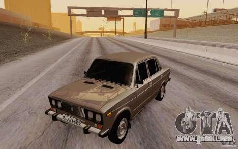 Drenaje 2106 VAZ para GTA San Andreas