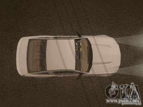 Ford Mustang 2011 GT para vista inferior GTA San Andreas