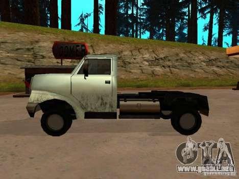 Yankee Truck para la visión correcta GTA San Andreas