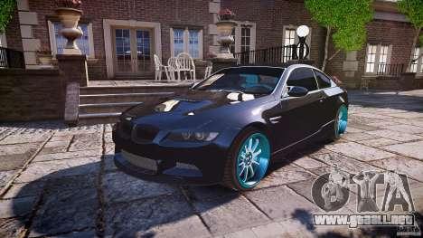 BMW E92 para GTA motor 4