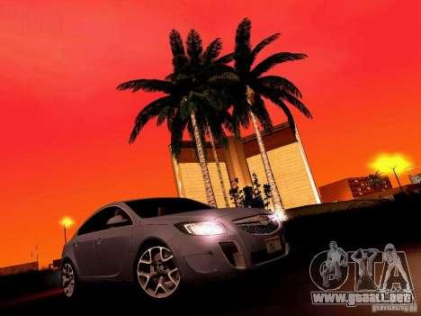 Opel Insignia para la vista superior GTA San Andreas
