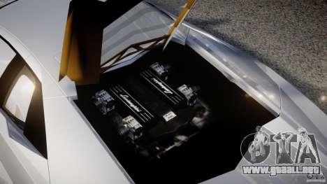 Lamborghini Reventon v2 para GTA 4 vista superior