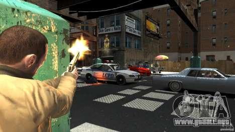 Gold Desert Eagle para GTA 4 segundos de pantalla