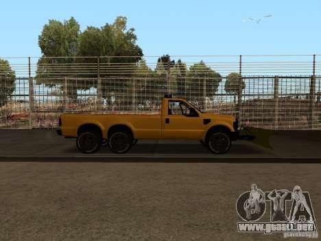 Ford Super Duty F-series para la visión correcta GTA San Andreas