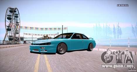 Nissan Silvia S14 JDM WAY para la visión correcta GTA San Andreas