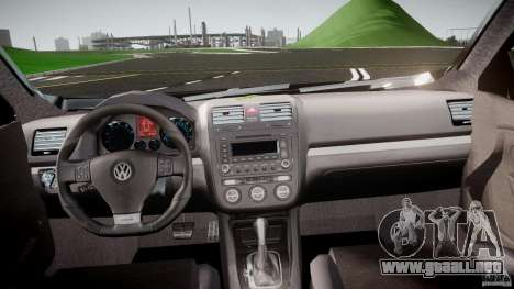 Volkswagen Jetta 2008 para GTA 4 visión correcta