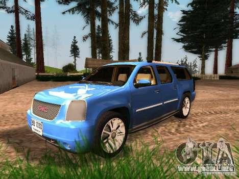 GMC Yukon Denali XL para GTA San Andreas