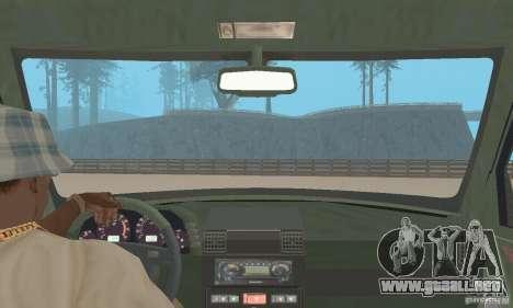 Land Rover Discovery 2 para GTA San Andreas vista hacia atrás