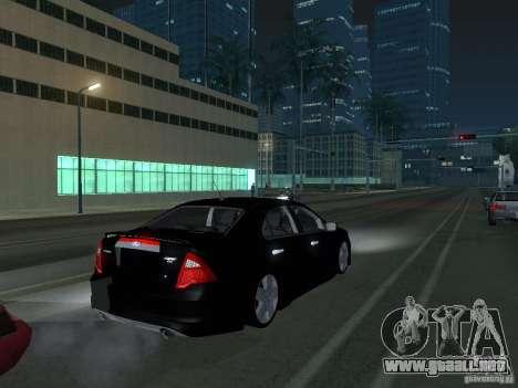 Ford Fusion para la visión correcta GTA San Andreas
