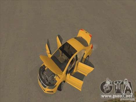 Volkswagen Passat CC para la vista superior GTA San Andreas