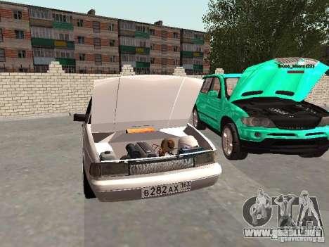 Moskvich 2141 para visión interna GTA San Andreas