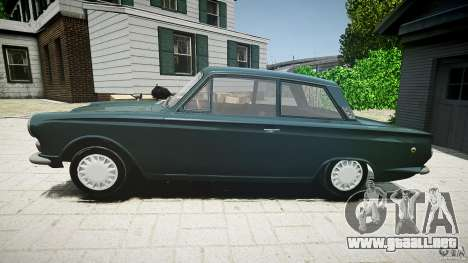 Lotus Cortina S 1963 para GTA 4 left