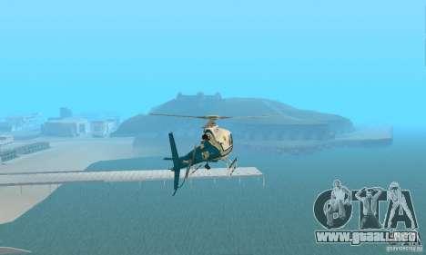 AS350 Ecureuil para la visión correcta GTA San Andreas