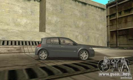 Renault Megane II 2005 para la visión correcta GTA San Andreas