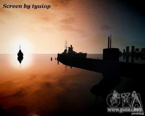 Marina de guerra para GTA 4 adelante de pantalla