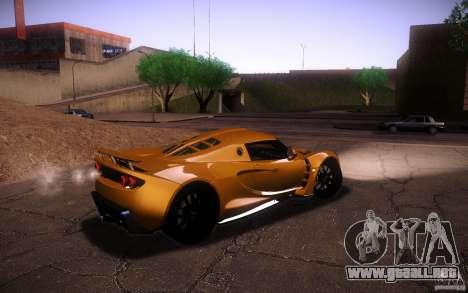 Hennessey Venom GT 2010 V1.0 para visión interna GTA San Andreas