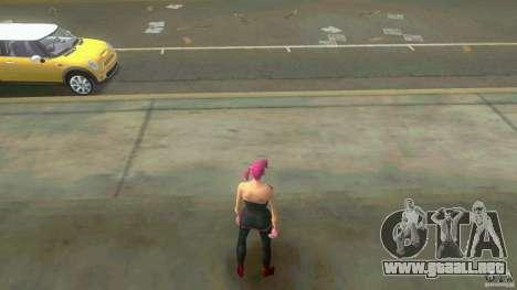 Girl Player mit 11skins para GTA Vice City octavo de pantalla