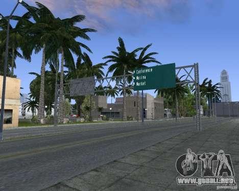 Carretera signos v1.1 para GTA San Andreas sexta pantalla
