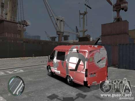 Gacela 2705 Telkomsel Van para GTA 4 left