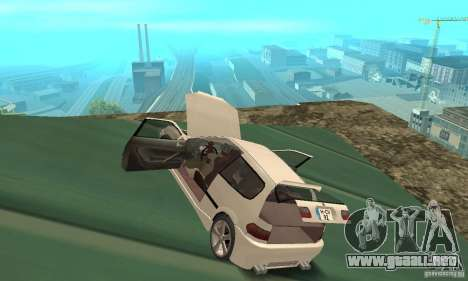 Honda Civic SiR II Tuning para visión interna GTA San Andreas