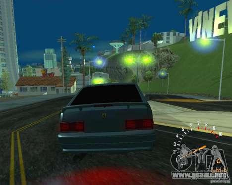 Ferarri 2113 VAZ para visión interna GTA San Andreas