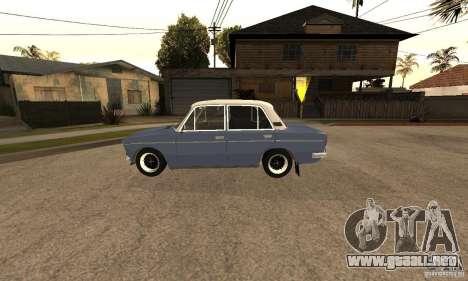 2106 VAZ viejo v2.0 para vista lateral GTA San Andreas