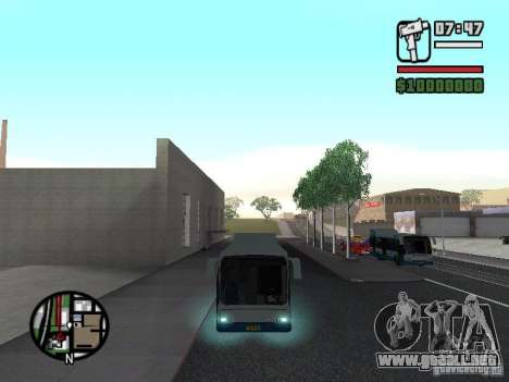 DAF para GTA San Andreas left