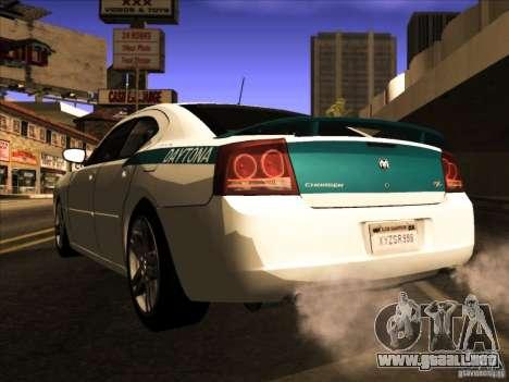 Dodge Charger R/T Daytona para visión interna GTA San Andreas