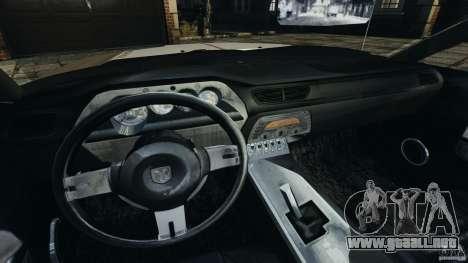 Dodge Challenger Concept 2006 para GTA 4 vista hacia atrás