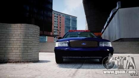 Ford Crown Victoria New York State Patrol [ELS] para GTA motor 4