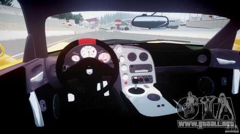 Dodge Viper SRT-10 ACR 2009 v2.0 [EPM] para GTA 4 visión correcta