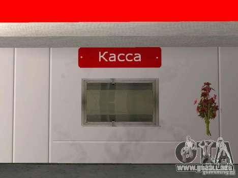 La gasolinera Lukoil para GTA San Andreas quinta pantalla