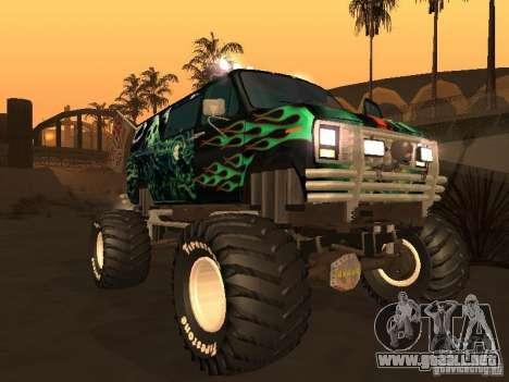 Ford Grave Digger para GTA San Andreas