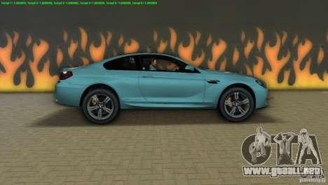 BMW M6 2013 para GTA Vice City left