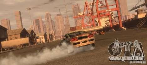 Ford Mustang Monster Energy 2012 para GTA 4 visión correcta