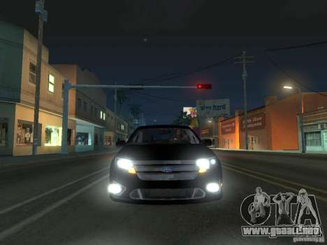 Ford Fusion para GTA San Andreas left