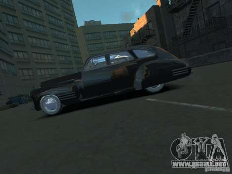 Cadillac Series 61 1942 para GTA 4 left