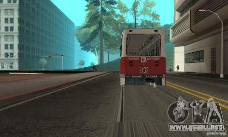 KTM5-2162 para GTA San Andreas left