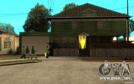 Es ruso Hata CJ para GTA San Andreas quinta pantalla