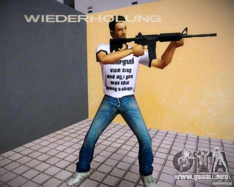 Pak armas de GTA4 para GTA Vice City segunda pantalla